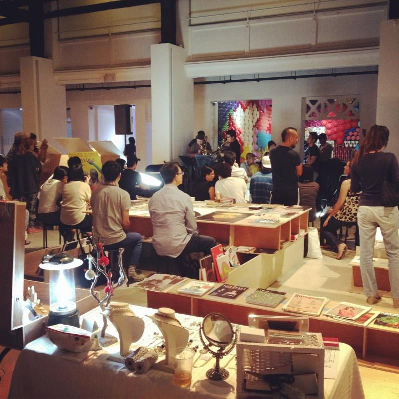 The MAAD Flea is a fun and creative night event for all. Photo credit: pequitobun