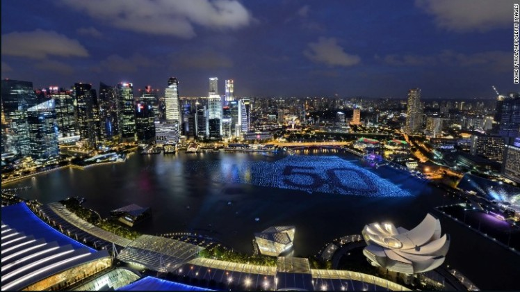 3. Singapore - With 17.09 million international visitors, Singapore was the third most visited city on the list.