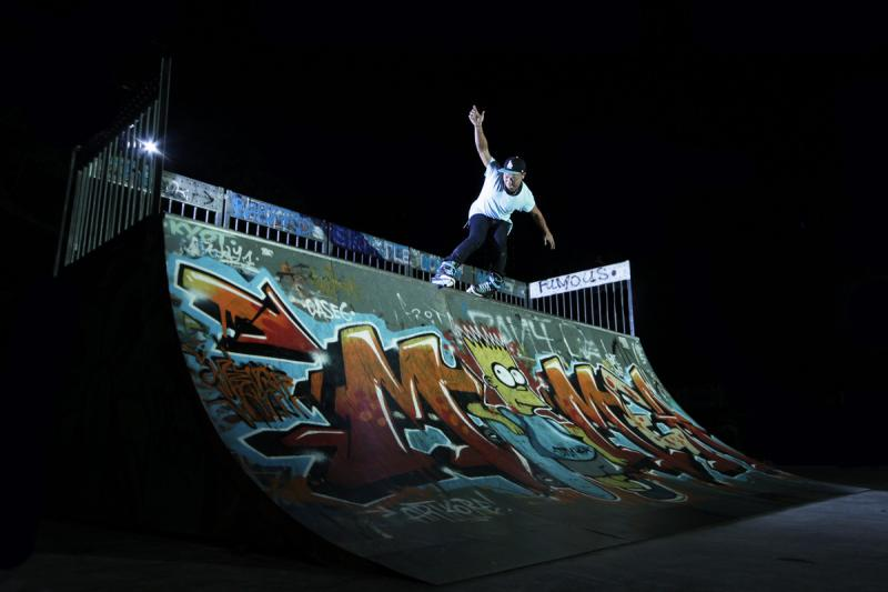 A skateboarder at Somerset Skate Park at night Get a glimpse of Singapore's street culture at Somerset Skate Park. Photo credit: Raihan Muhaimin / Flickr