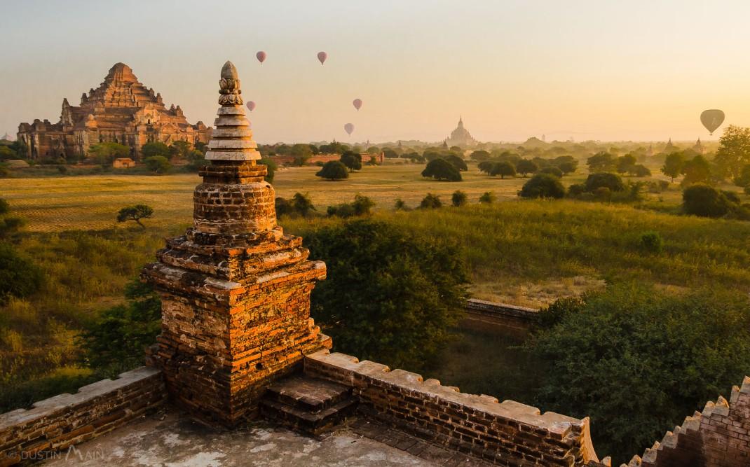 sunset bagan banned tourist climb pagodas