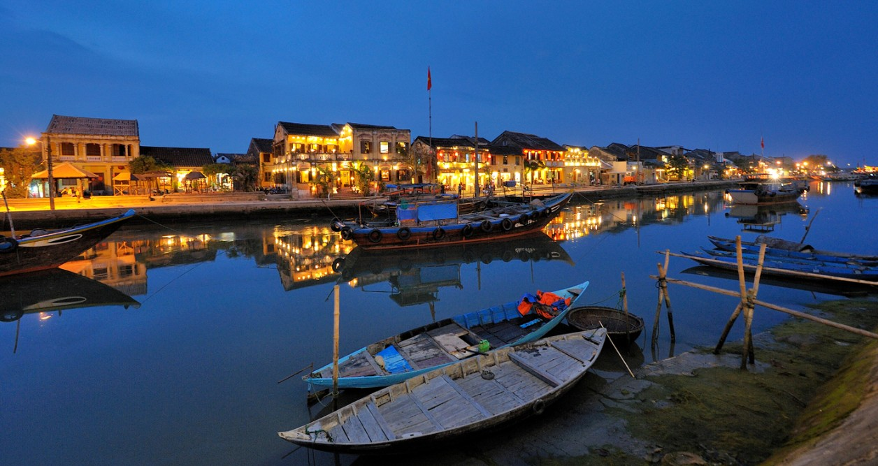 Thu Bon river boat, Hoi An, Quang Nam
