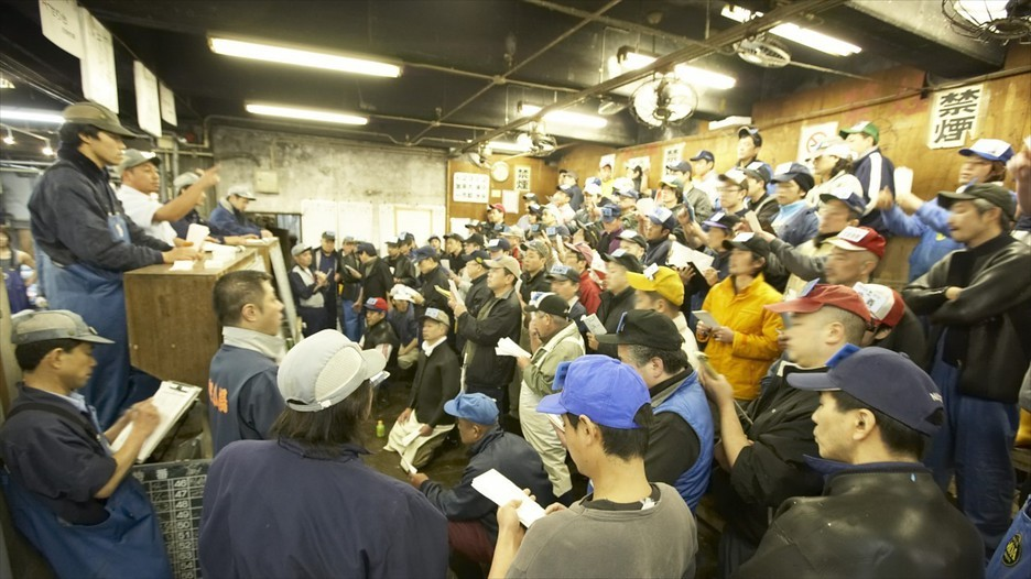 Visiting tsukiji fish market the largest fish market in for Tokyo fish market