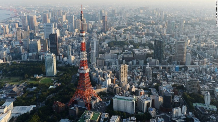 25. Tokyo, Japan - Want to know where everyone else is going for their vacation? Euromonitor has crunched the numbers for the world's most popular destinations. Tokyo comes in at 25, with 5.99 million visitors as measured in 2014. Click on to find out which city is number one.