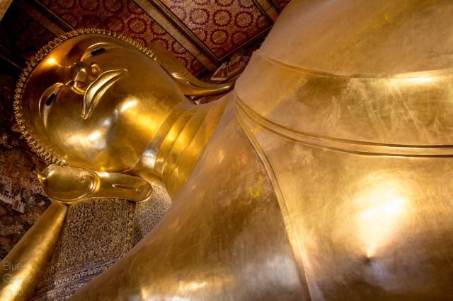 The Reclining Buddha at Wat Pho