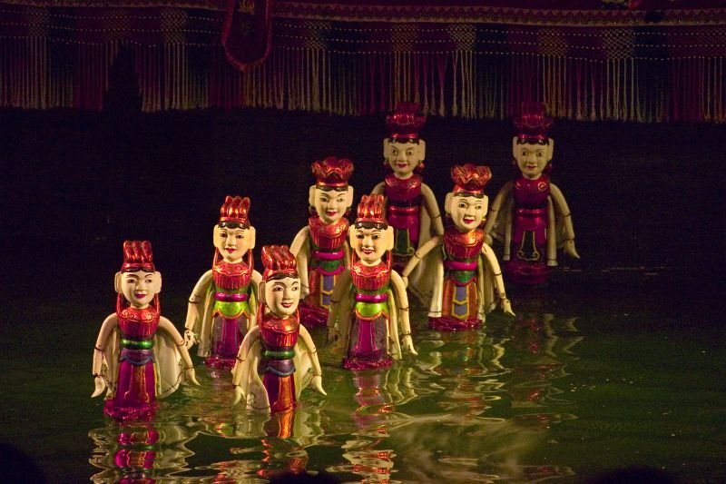 water pupplet in hanoi vietnam travel hanoi guide