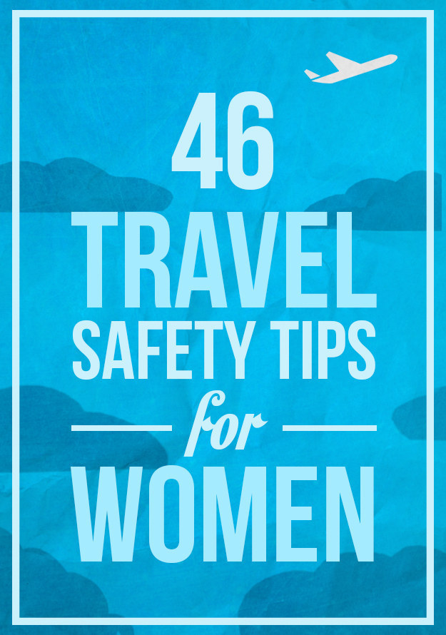 women tips safety for travel