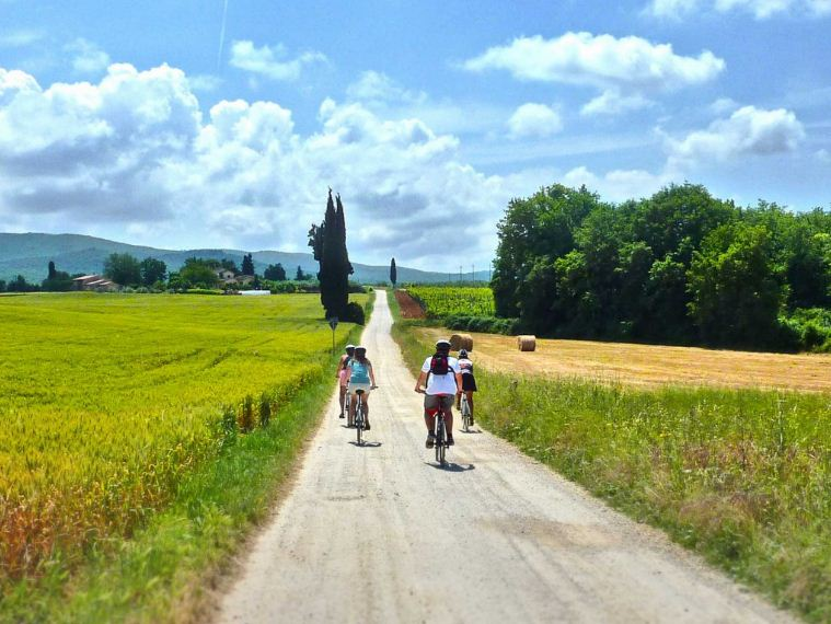 cycling in tuscany self guided