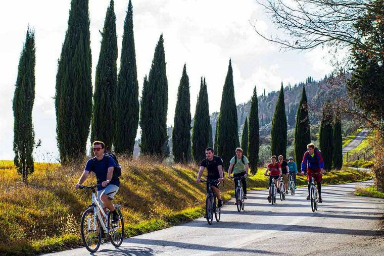 bike tours in italy self guided