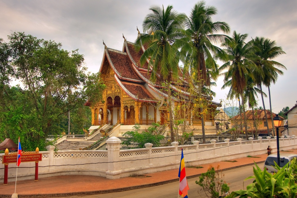 National Museum of Luang Prabang (formerly known as the Royal Palace). Photo: Getaboutasia