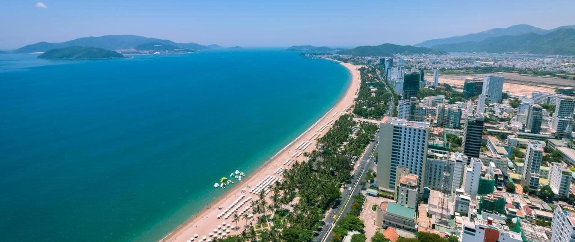 Nha Trang city from above