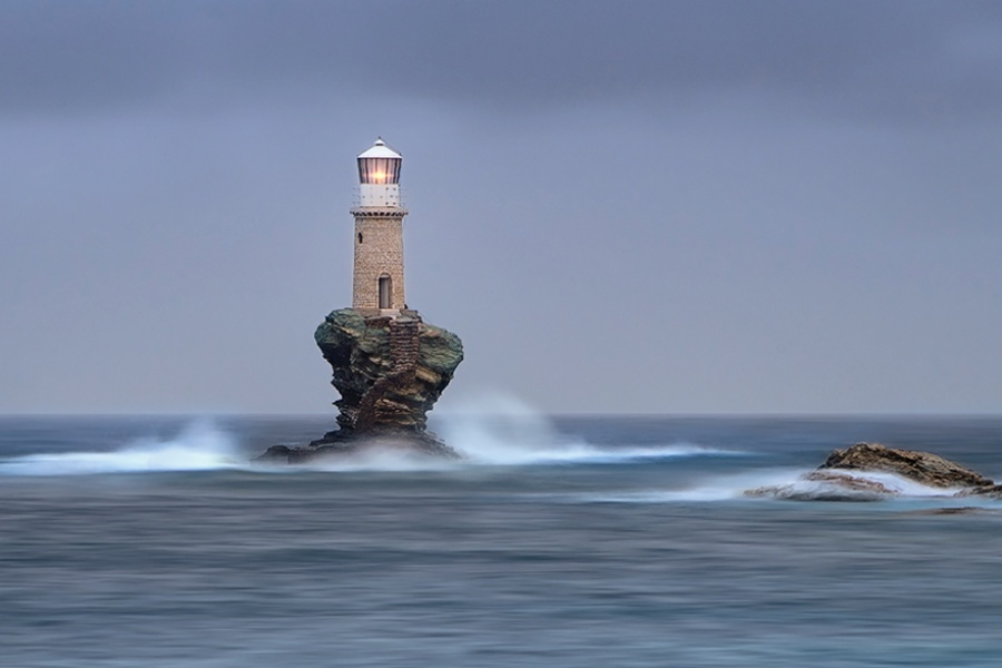 27 incredible lighthouses - Andros, Greece