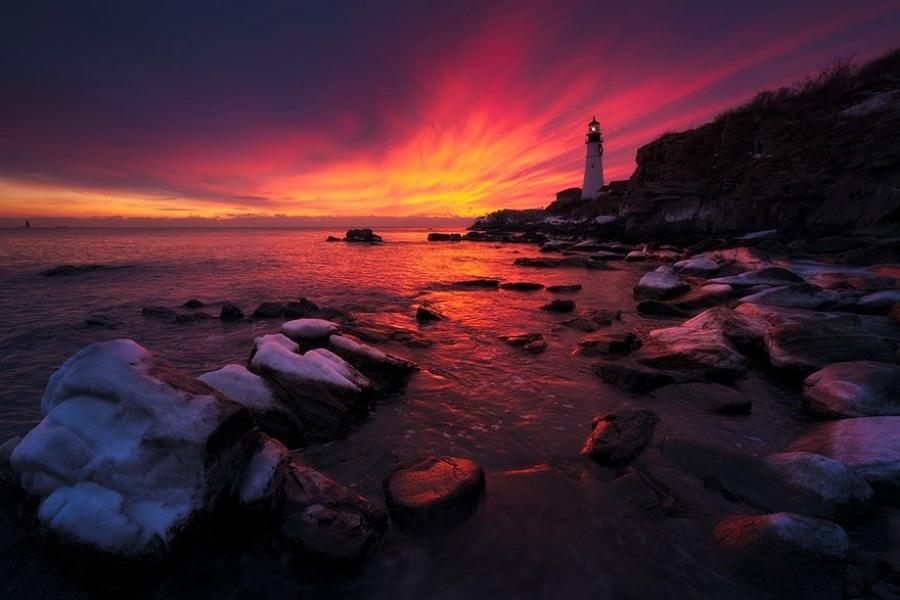 27 incredible lighthouses - Maine, USA