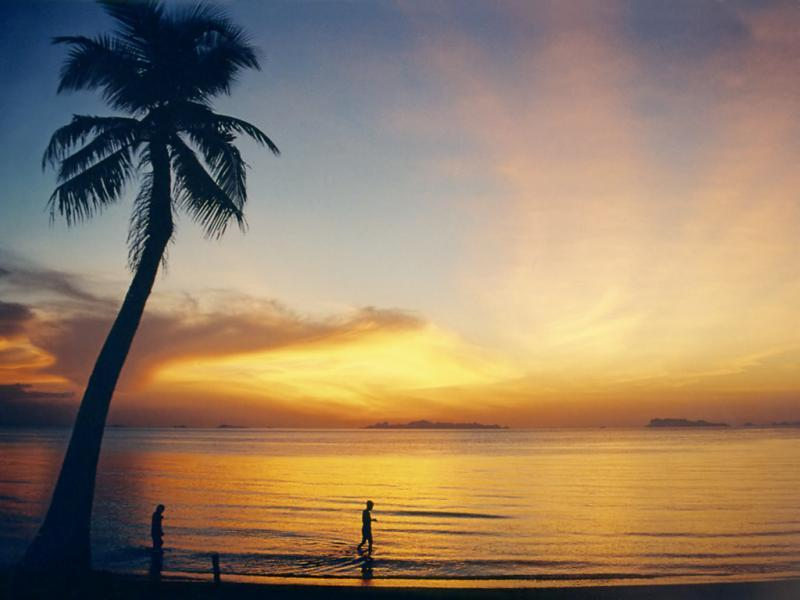 Enjoy the stunning sunsets on Koh Samui