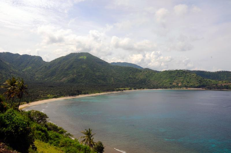 Head to Lombok to find long stretches of untouched coastlines.