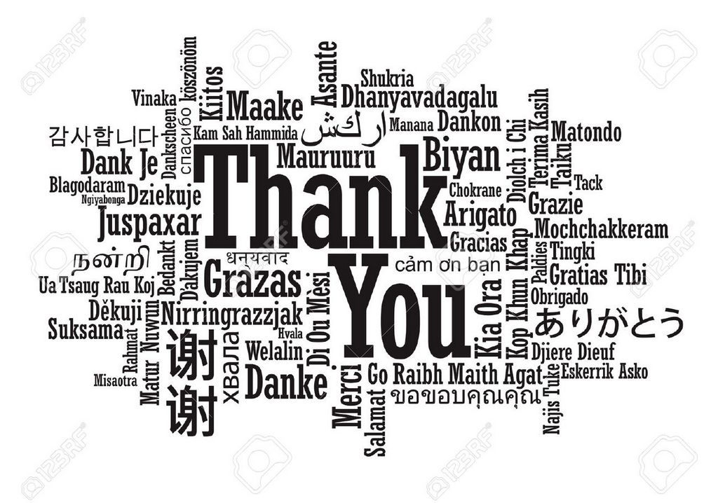 "7. We can say ""thank you"" in many languages"