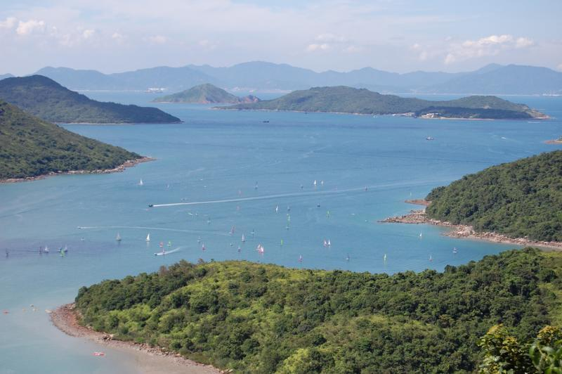 9. Adventurous types can make their way to the undiscovered Tai Long Wan Bay in Hong Kong