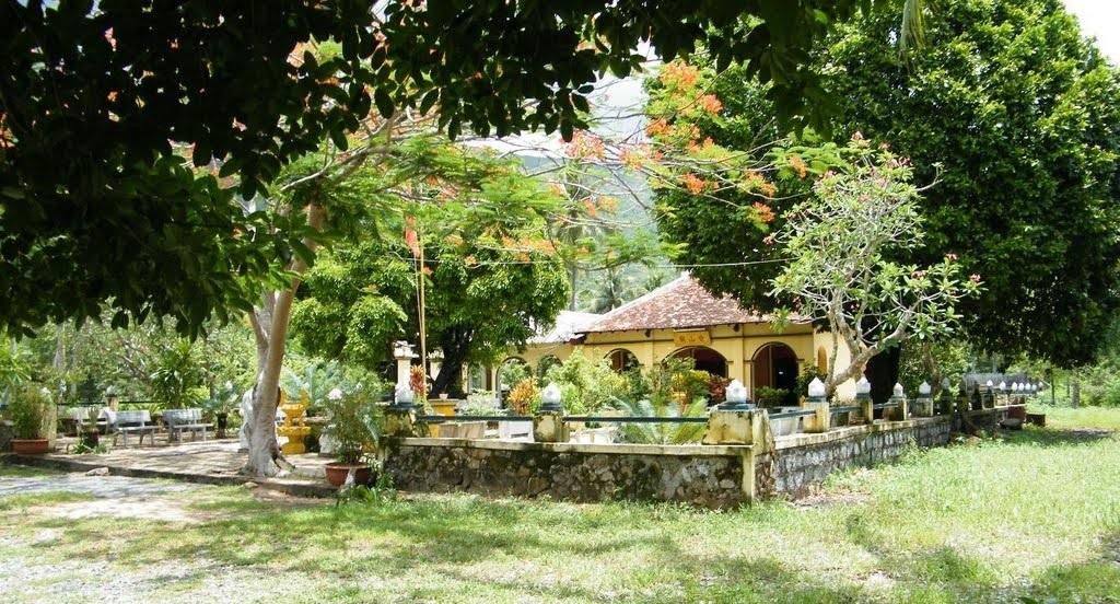 A corner of the temple. Photo: canhdepcondao.blogspot.com