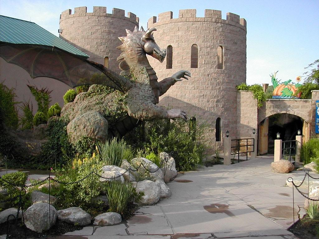 ABQ BioPark Botanic Garden, Albuquerque, NM