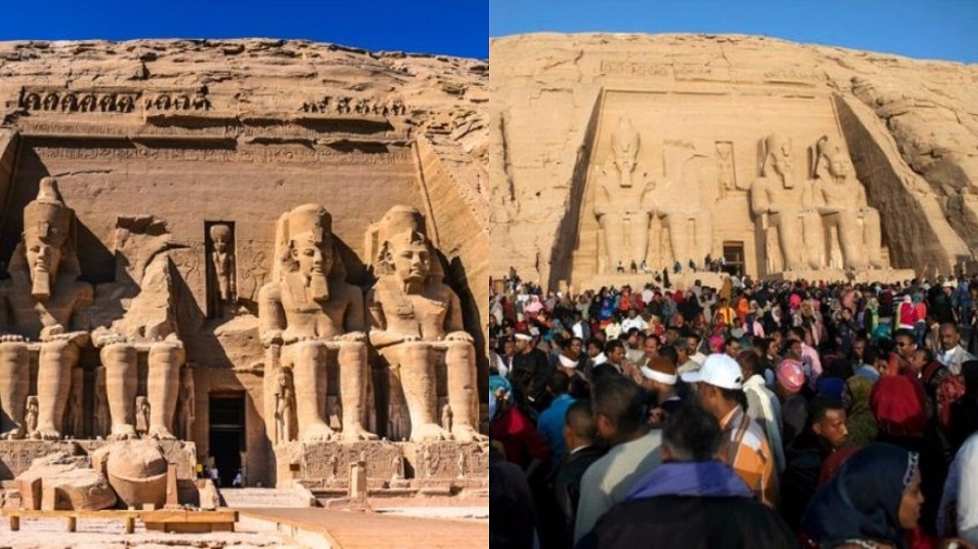 Ancient temples of Abu Simbel - Giza, Egypt