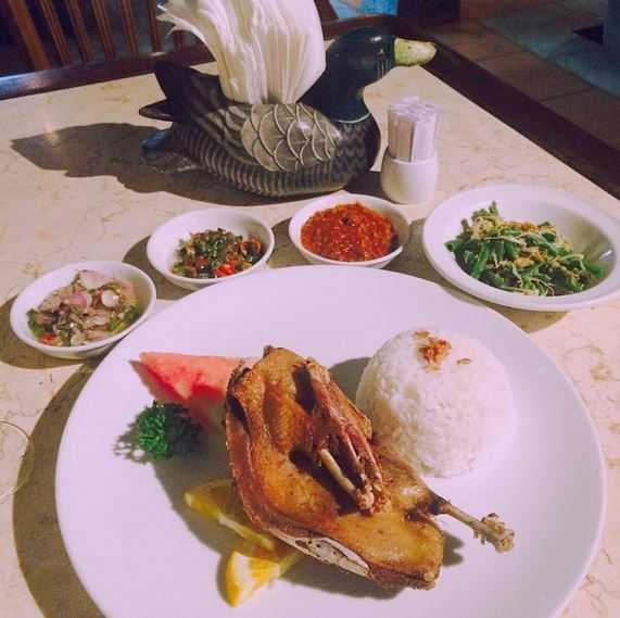 Bali food - Deep Fried Duck