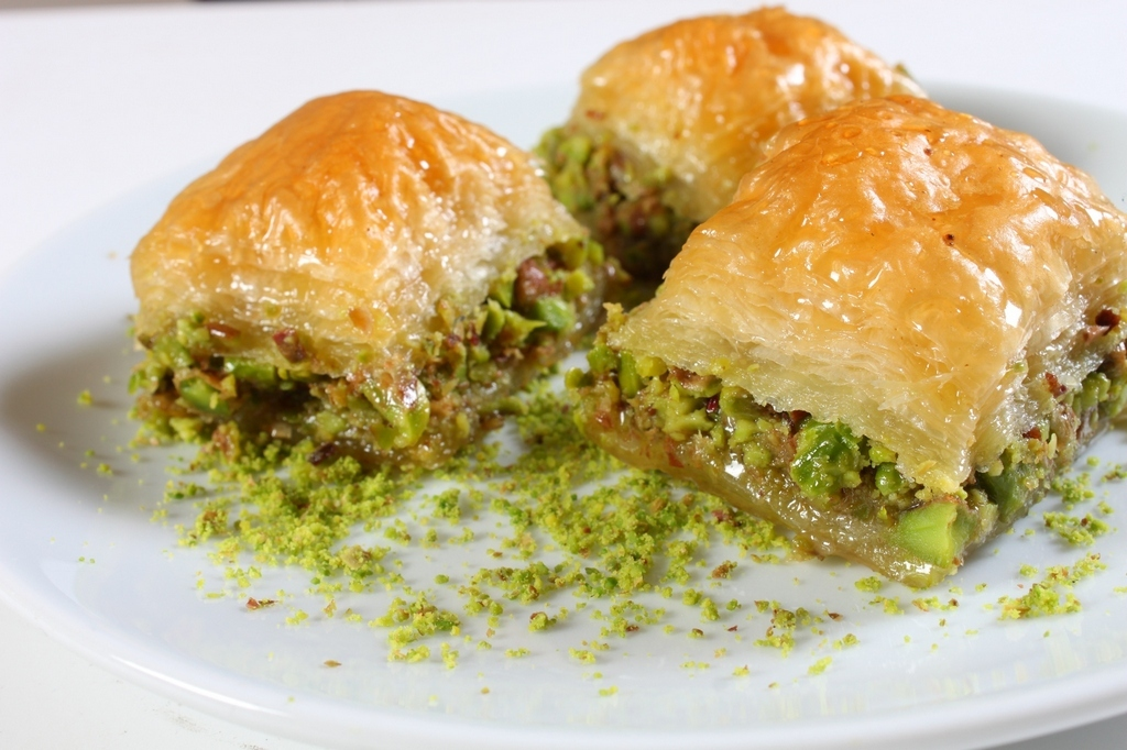 BAKLAVA-greek dish