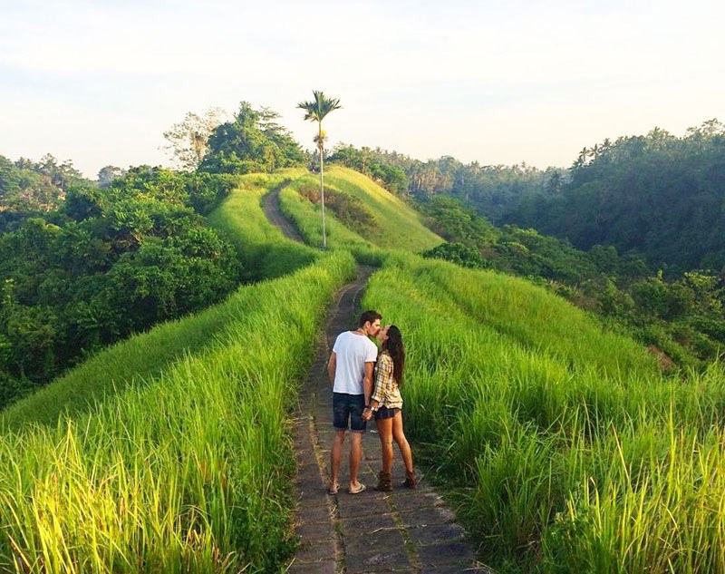 Bali is one of the best honeymoon destinations on a budget in Asia