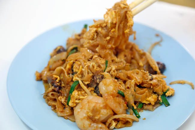 Char Koay Teow stir-fried rice noodles