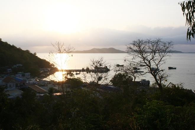 Chet beach in dawn