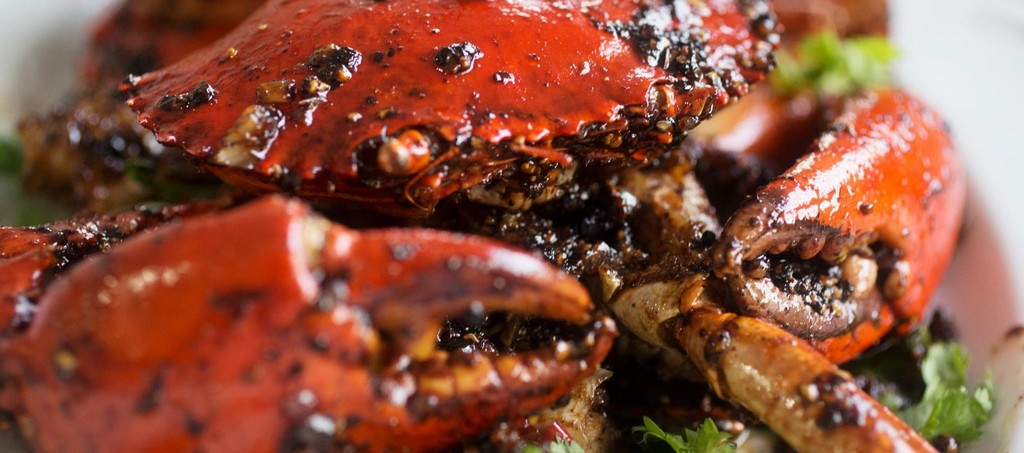 Chili crab and black pepper crab