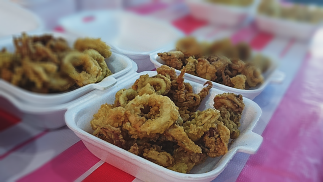 Crispy Squid Langkawi Night Market