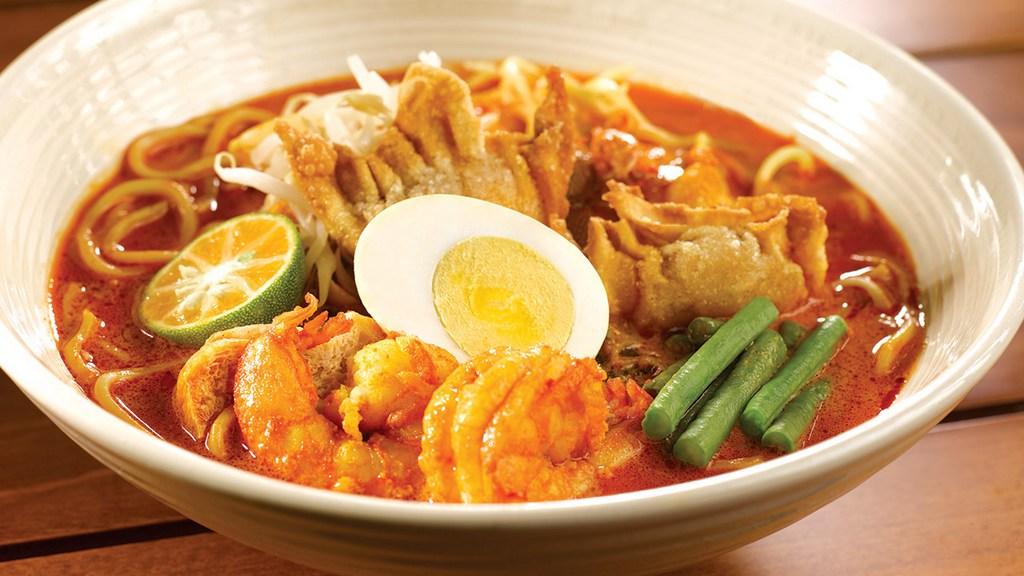 Curry laksa malasia