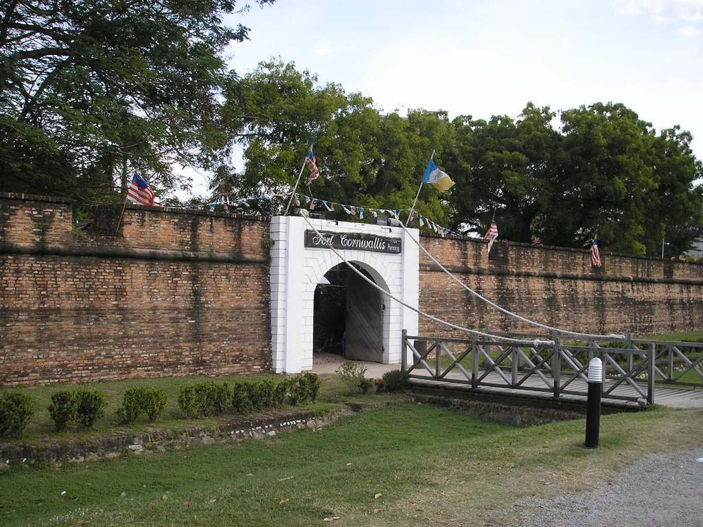 Fort Cornwallis. Source: wikipedia.org.