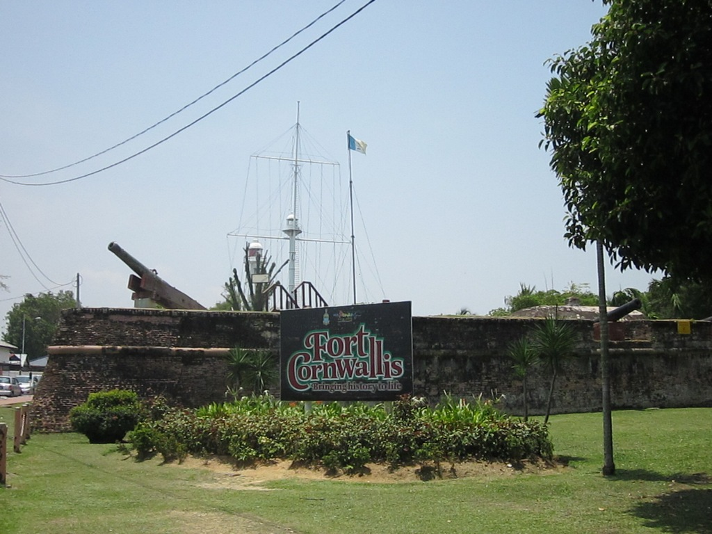 Fort Cornwallis. Source: hayleyincambodia.wordpress.com.