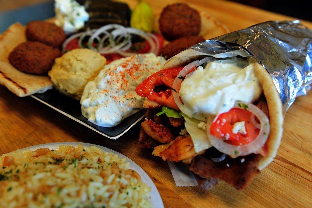 GYRO-greek dish