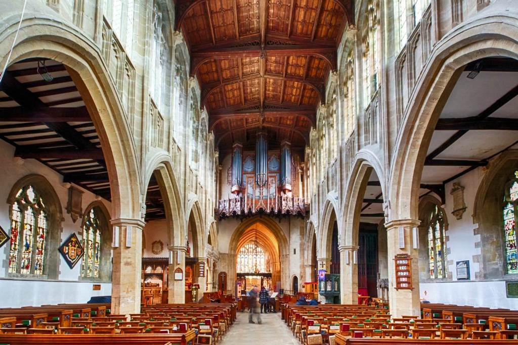 He said it himself: the world's your oyster – so why not start in Stratford-Upon-Avon? Holy Trinity, Shakespeare's resting place.