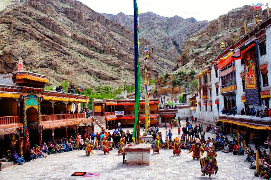 a holiday in Hemis monastery, Ladakh. Source: plus.google.com