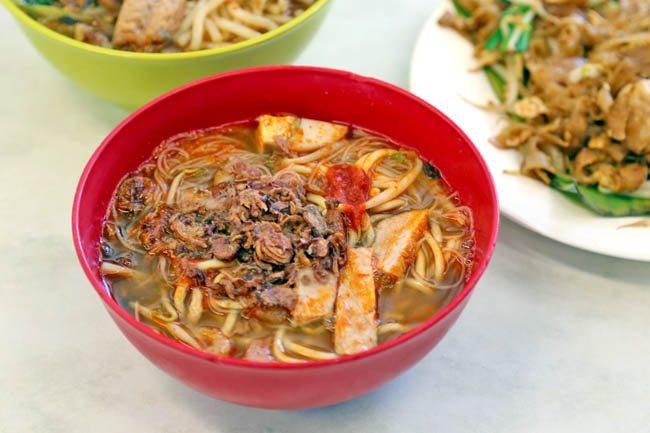 Hokkien cuisines Prawn Noodles (Hae Mee)