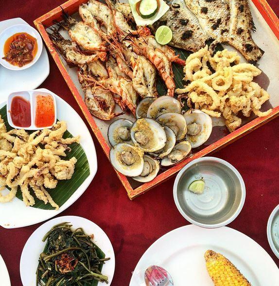 Bali food - Seafood