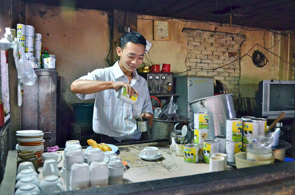 Burmese milk tea Photo: i.ytimg