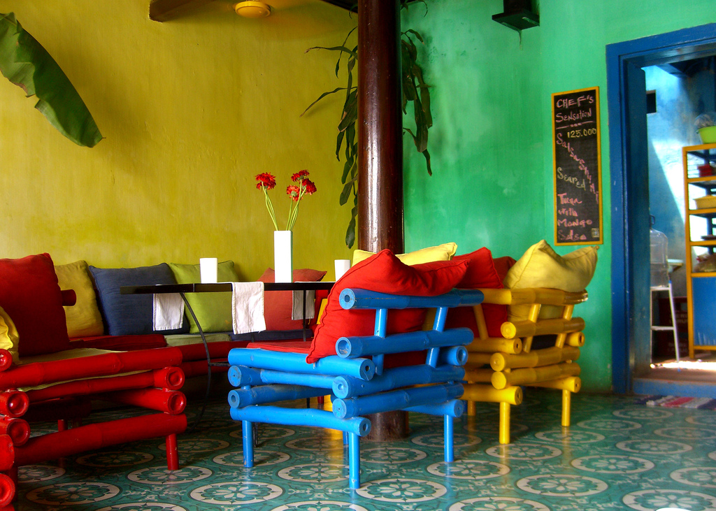 Mango Rooms brings its customers a feeling of a half-painted yet harmonious and eye-catching picture. Photo: Brady