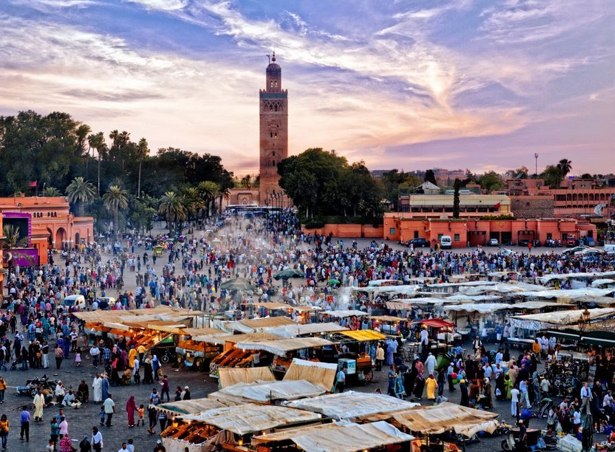 Marrakech, Morocco 10 most popular place