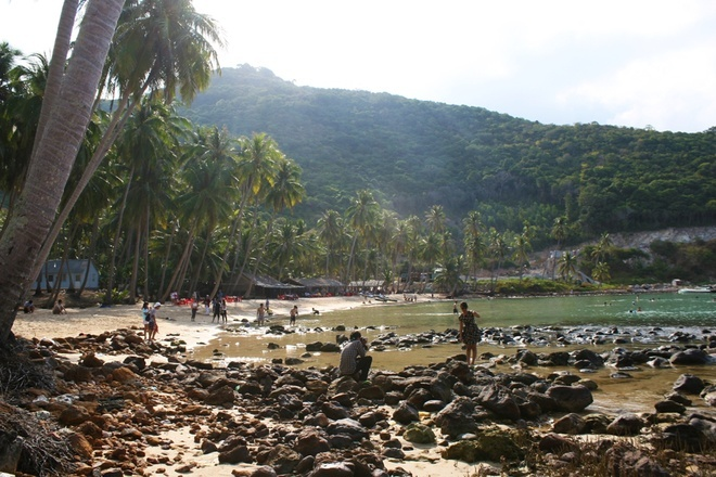 Rocky reef - Men beach
