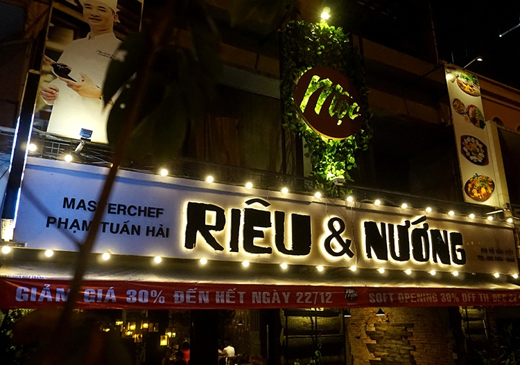 Moc Rieu Nuong restaurant of masterchef judge Pham Tuan Hai