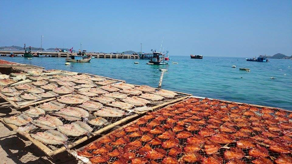 Nam Du - Vietnam seafood - Dried fish