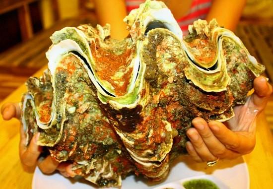 Nam Du - Vietnam seafood - Giant clam