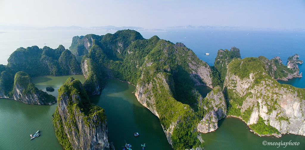 Amazing limestone islands.