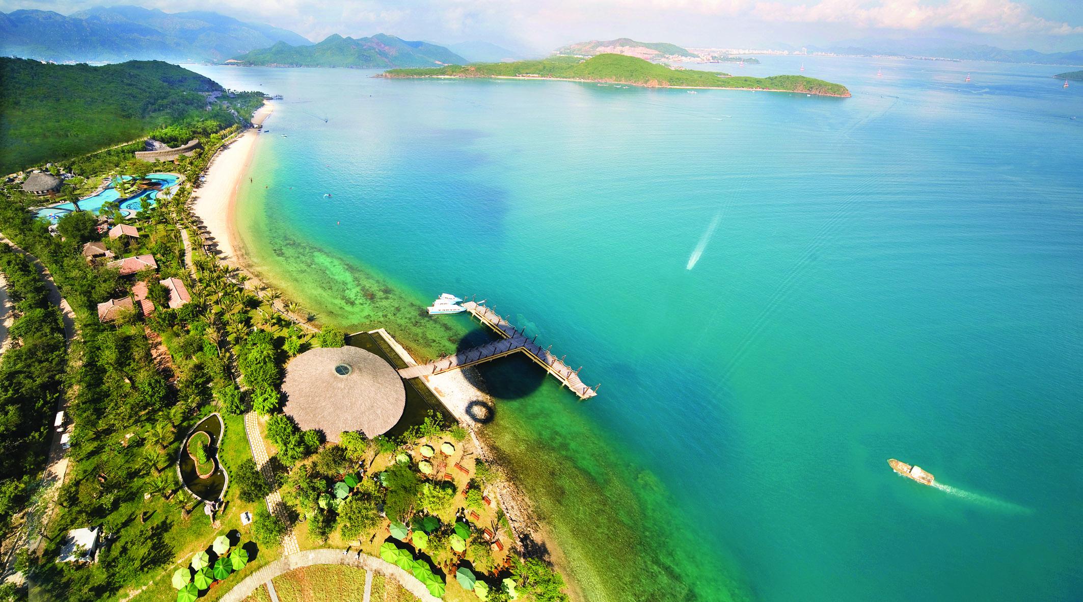 Wonderful view of Nha Trang Beach