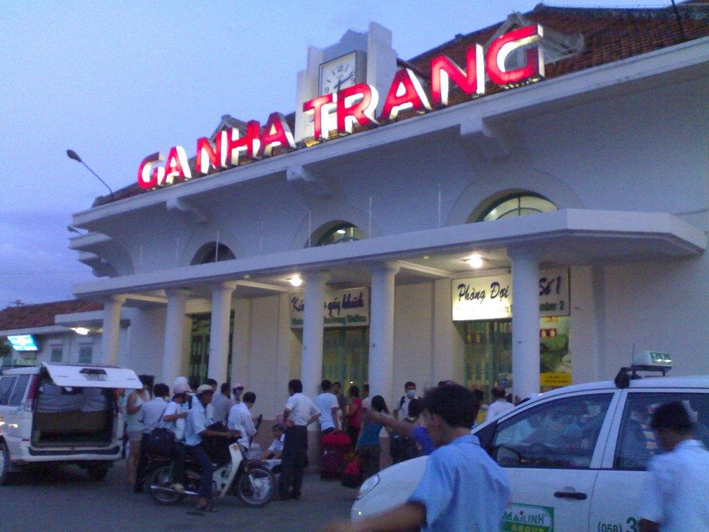 Nha Trang station. Photo: tambun.com.vn