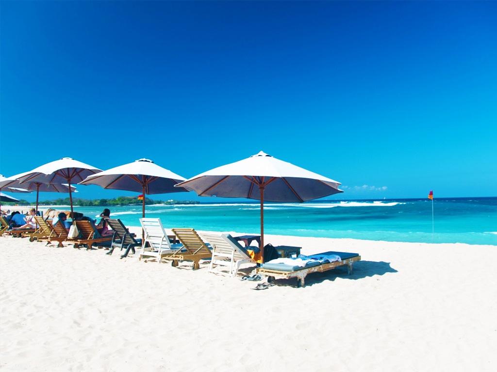 Nuas Dua Beach Bali Indonesia