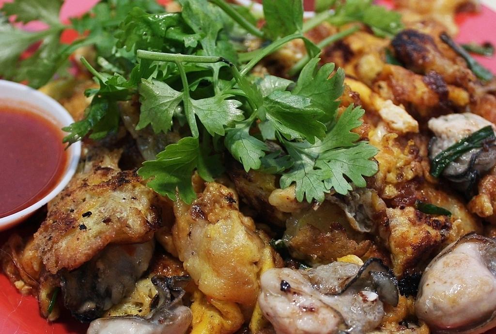 Oyester omelet malaysia